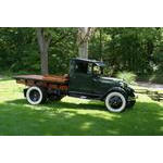 1930 Ford AA Stake Truck Wide Shot - Future Look